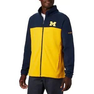 NWT- Michigan🏈 fleece jacket-L